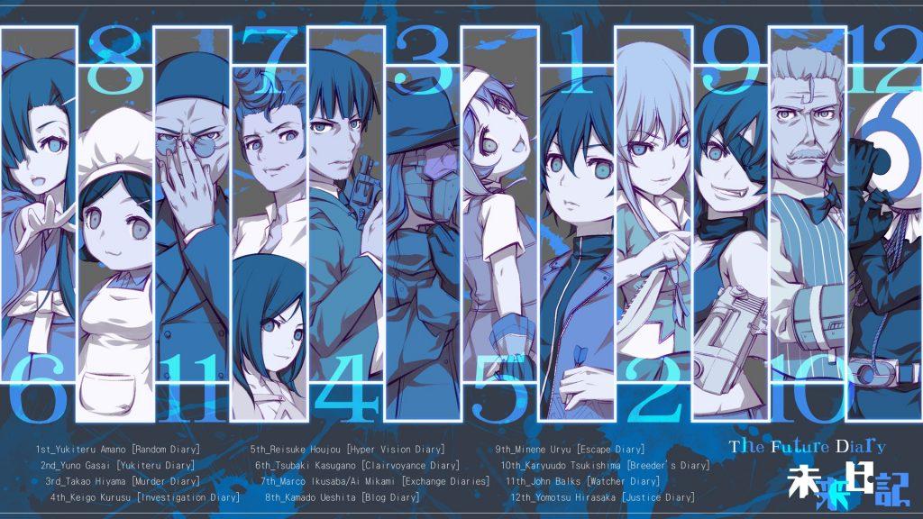 >Mirai Nikki บันทึกมรณะ เกมล่าท้าอนาคต ตอนที่ 1-26 OVA พากย์ไทย