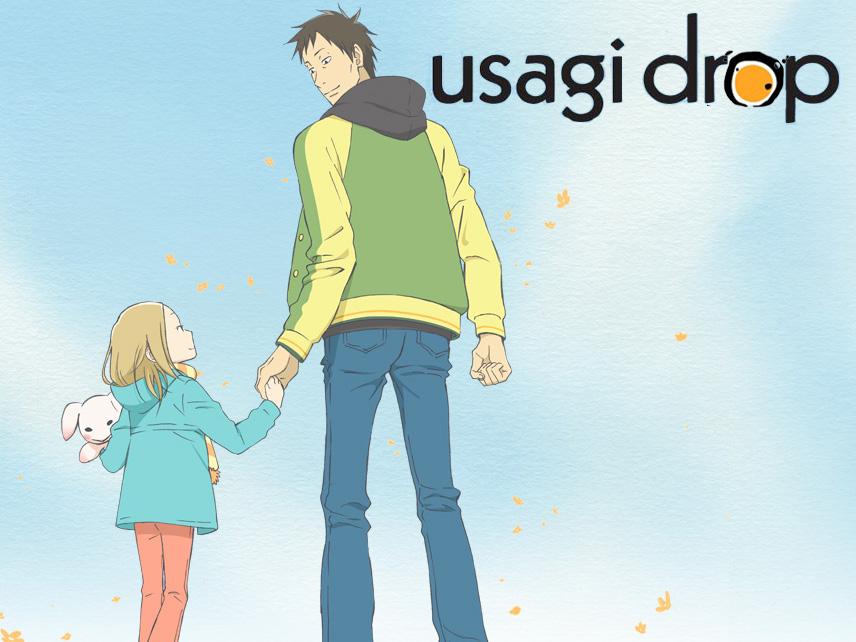 >Usagi Drop (คุณน้าผม อายุ 6 ขวบ) ตอนที่ 1-11 ซับไทย
