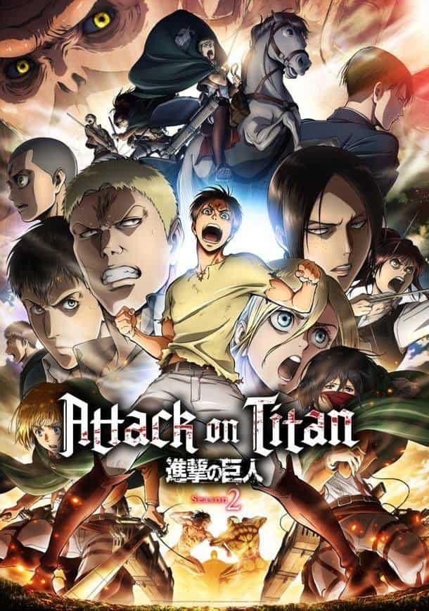 >Attack on Titan Season 2 ผ่าพิภพไททัน ภาค2 ตอนที่ 1-12+OVA ซับไทย