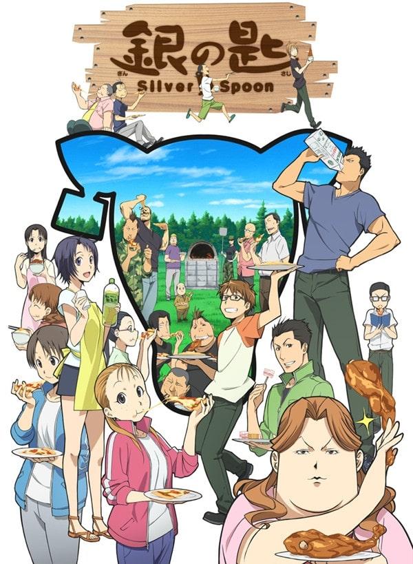 >Silver Spoon ซิลเวอร์สปูน (Gin no Saji) ภาค 1-2 ซับไทย