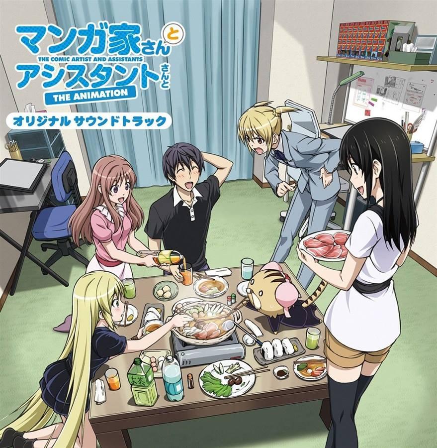 >Mangaka-san to Assistant-san to นักเขียนสุดป่วนกับผู้ช่วยสุดแก่น ตอนที่ 1-12 พากย์ไทย