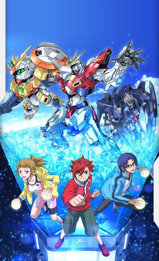 >Gundam Build Fighters Try ตอนที่ 1-25+OVA พากย์ไทย